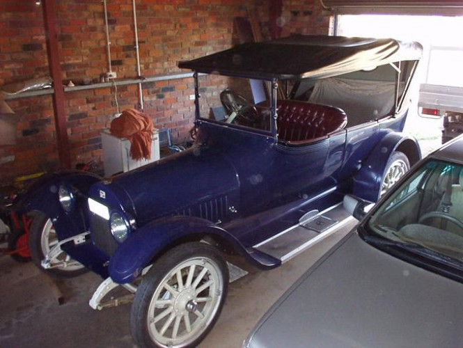 1917 Model DX-45 Touring