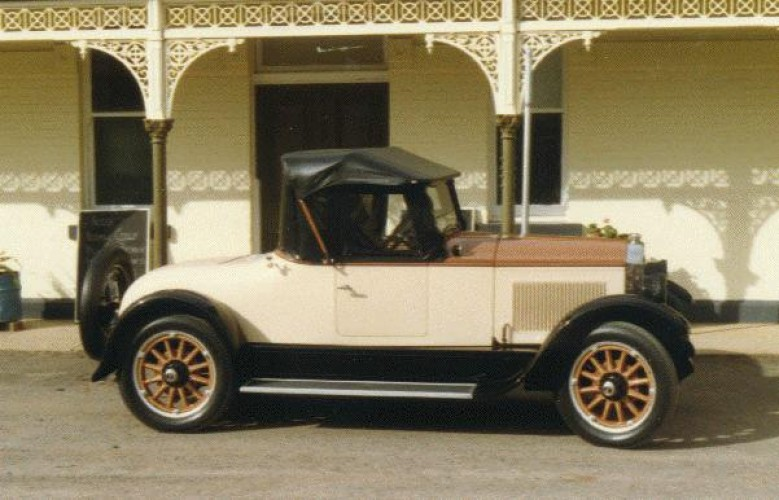 1926 Model 26-24 Roadster (A.E.Agate body)