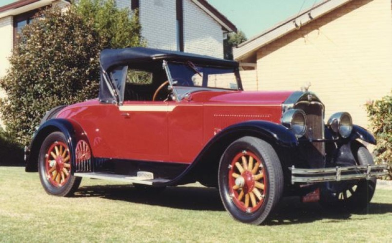1928 Model Buick Roadster, model 28-24, Holden Body