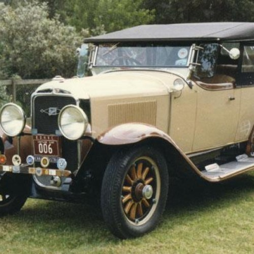 1929 Model 29-25 Tourer (Holden Body)