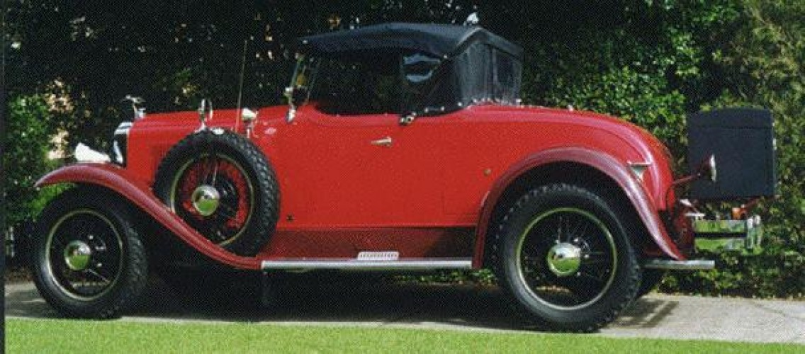 1929 Model 29-24 Sports Roadster (Holden Body)