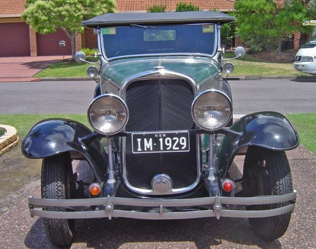 1929 Model Marquette, model 35 Tourer