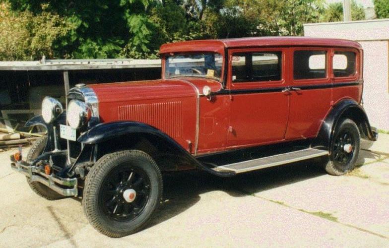 1930 Model 30-60 7passenger Sedan