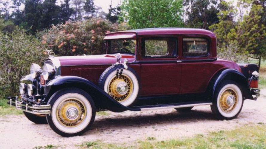1931 Model 31-96 Victoria Coupe (Holden Body - Custom Built)