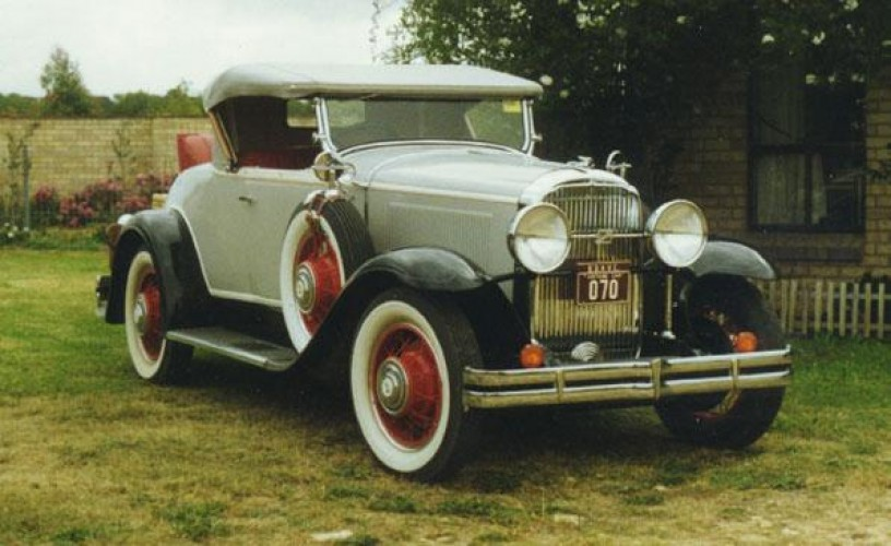 1931 Model 31-64 Roadster (Holden Body)