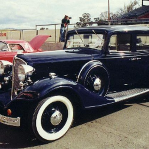 1933 Model 57, (four door) Sedan