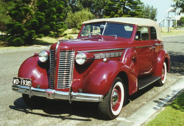 1938 Model 60-C Century Series Convertible Phaeton
