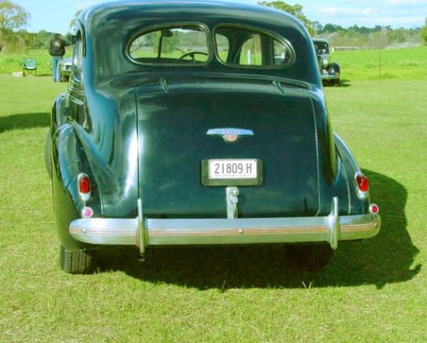 1938 Model Buick - 8/40 Special Sedan