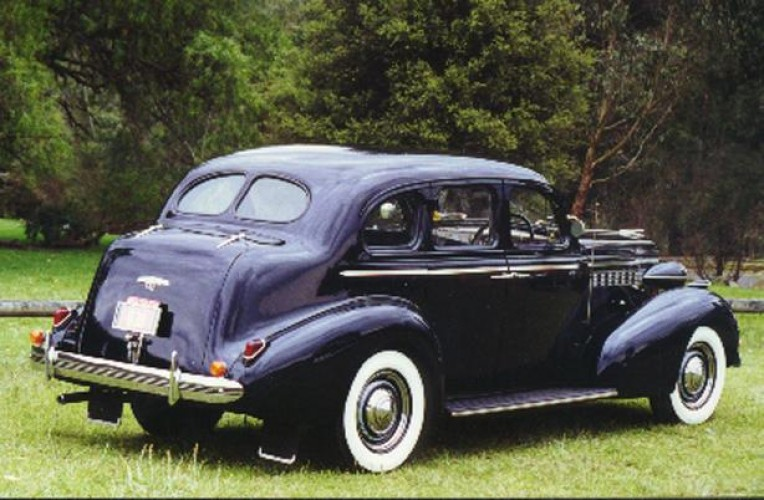 1938 Model 8/40 Special (Holden body)