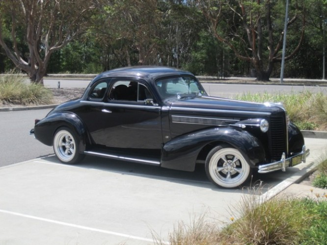 1938 Model Buick Special Coupe