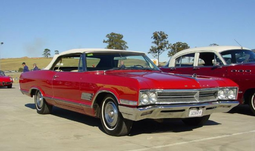 1966 Model Buick Wildcat Convertible (series 46467)