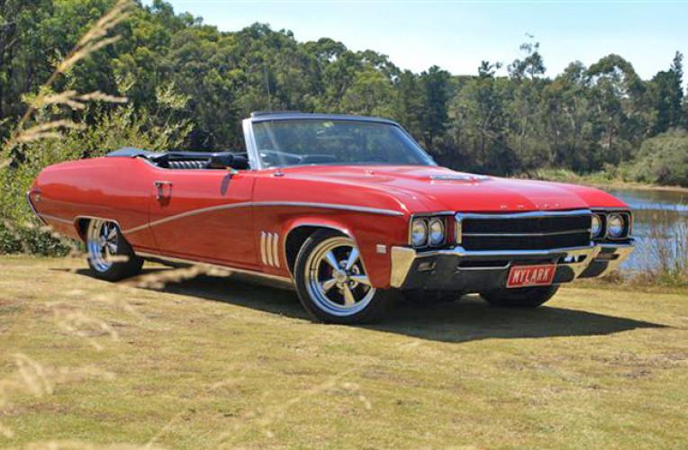 1969 Model Buick Skylark, model 44467