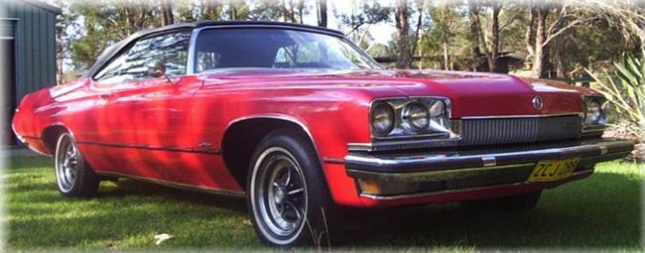 1973 Model Buick Centurion Convertible