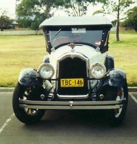 1927 Model 27-25 Standard Six Tourer