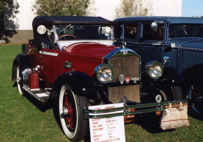 1928 Model Buick Roadster, model 28-24, Holden Body