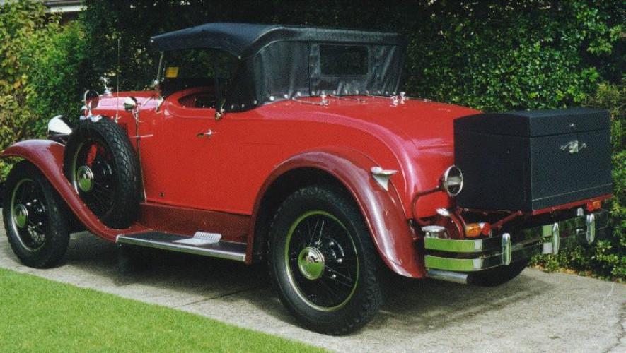 1929 Model 29-24 Sports Roadster (Holden Body)