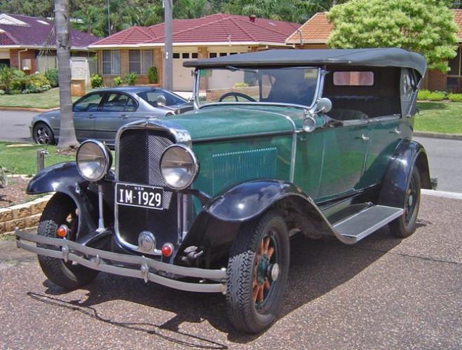 1929 Model Marquette, model 35 Tourer