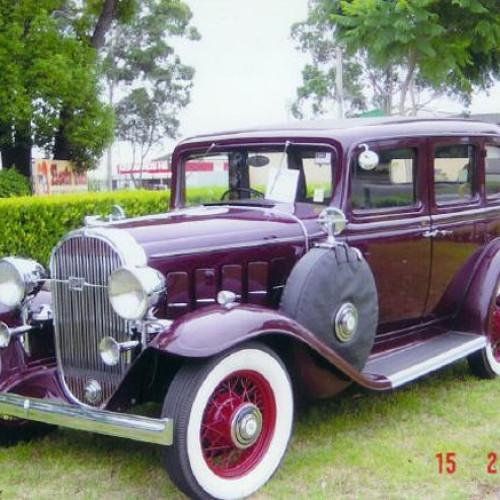 1932 Model 8/50 (four door) Sedan
