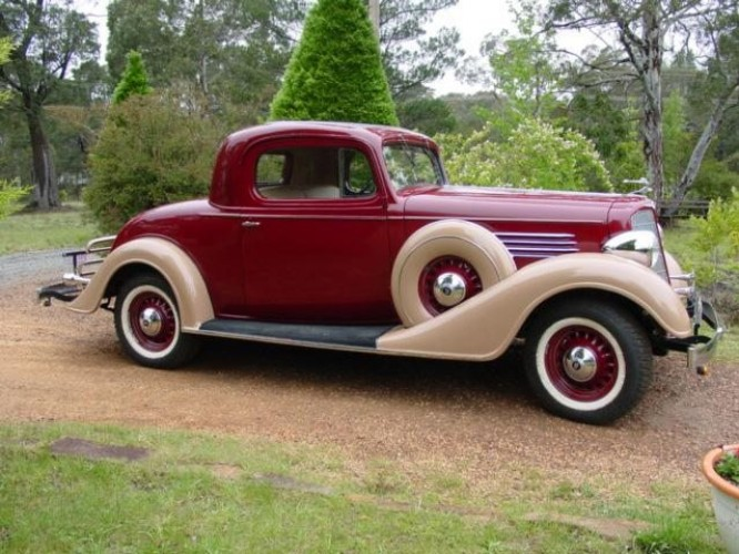 1934 Model Buick model 56S Sports Coupe