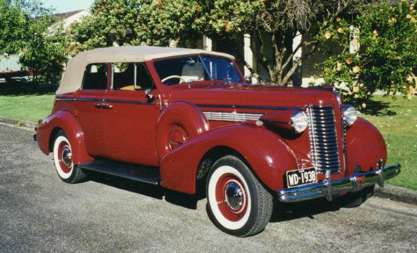 1938 Model 60-C Century Series Convertible Phaeton