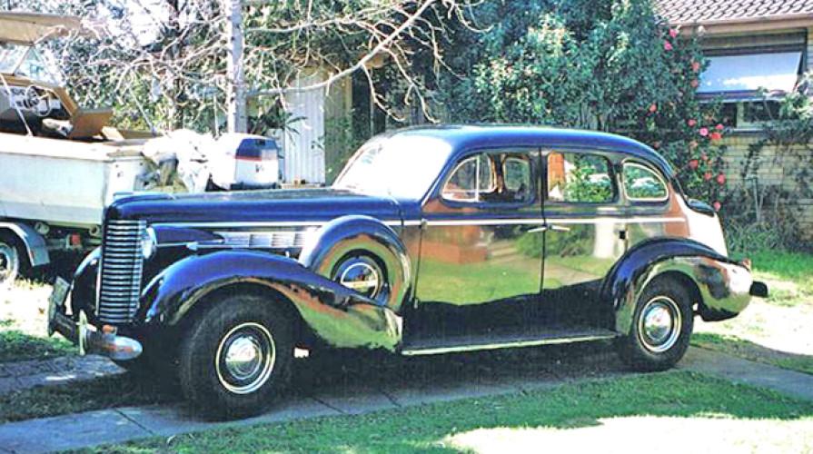 1938 Model Buick Century - 8/60