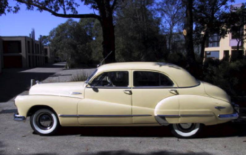 1947 Model 47-51 Super Sedan