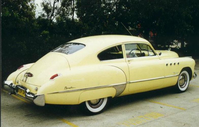 1949 Model 49-76S Roadmaster Sedanette