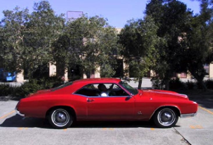 1967 Model Buick Riviera
