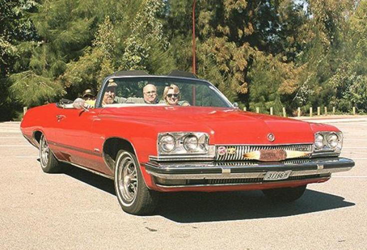 1973 Model Buick Centurion Convertible