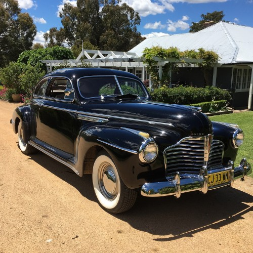 1941 Buick 2 door Sedanette Special Model 46S