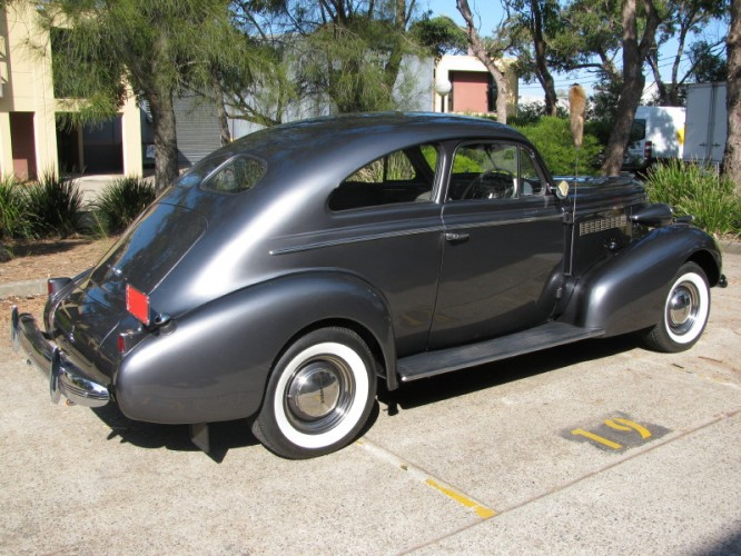 1937 Model Buick Century Coupe Sloper